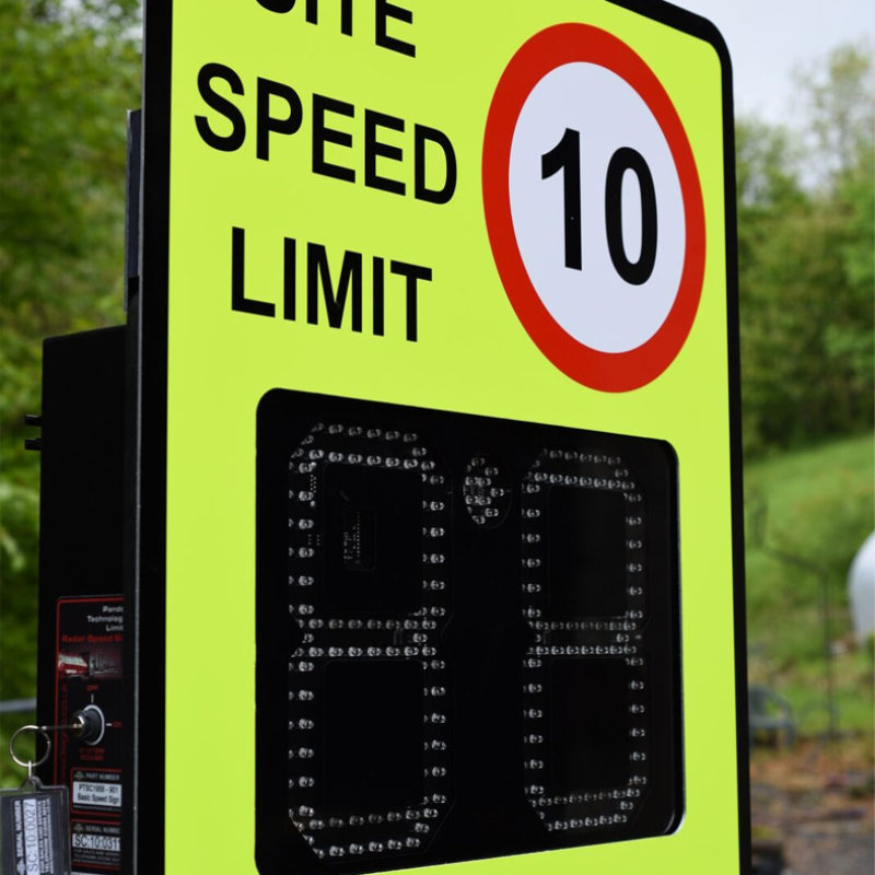 PTSC 901 Hi Vis - Radar Speed Signs