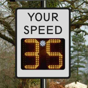 PTSC 901 RR, Radar Speed Signs, Speed Signs