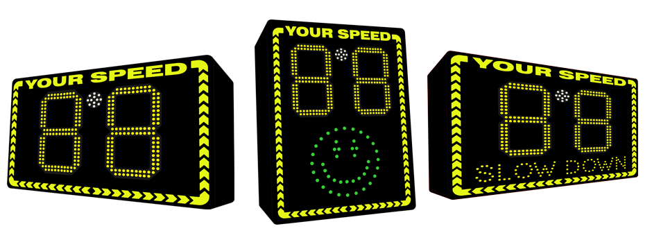 Radar Speed Signs, Speed Signs