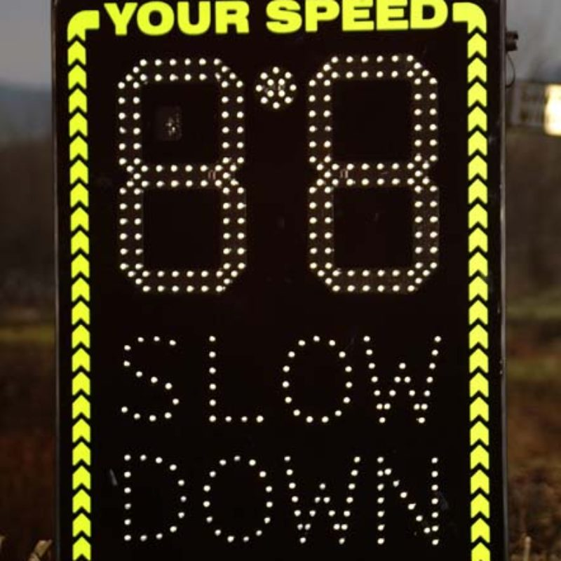 PTSC 906 - Radar Speed Signs
