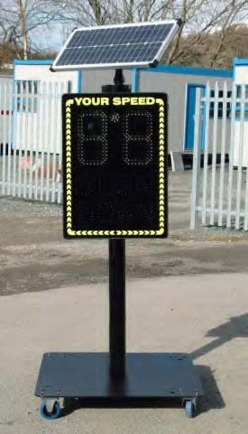 PTSC 825 - Radar Speed Signs